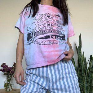 Vintage Hana Barbera Tie Dye Yogi Bear T-shirt